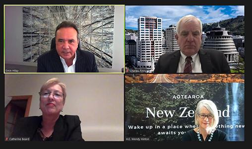 """Yeni Zelanda Ankara Büyükelçisi Wendy Hinton: """"İş Birliğimizi Daha Yaratıcı Ve Dinamik Hale Getirebiliriz"""""""