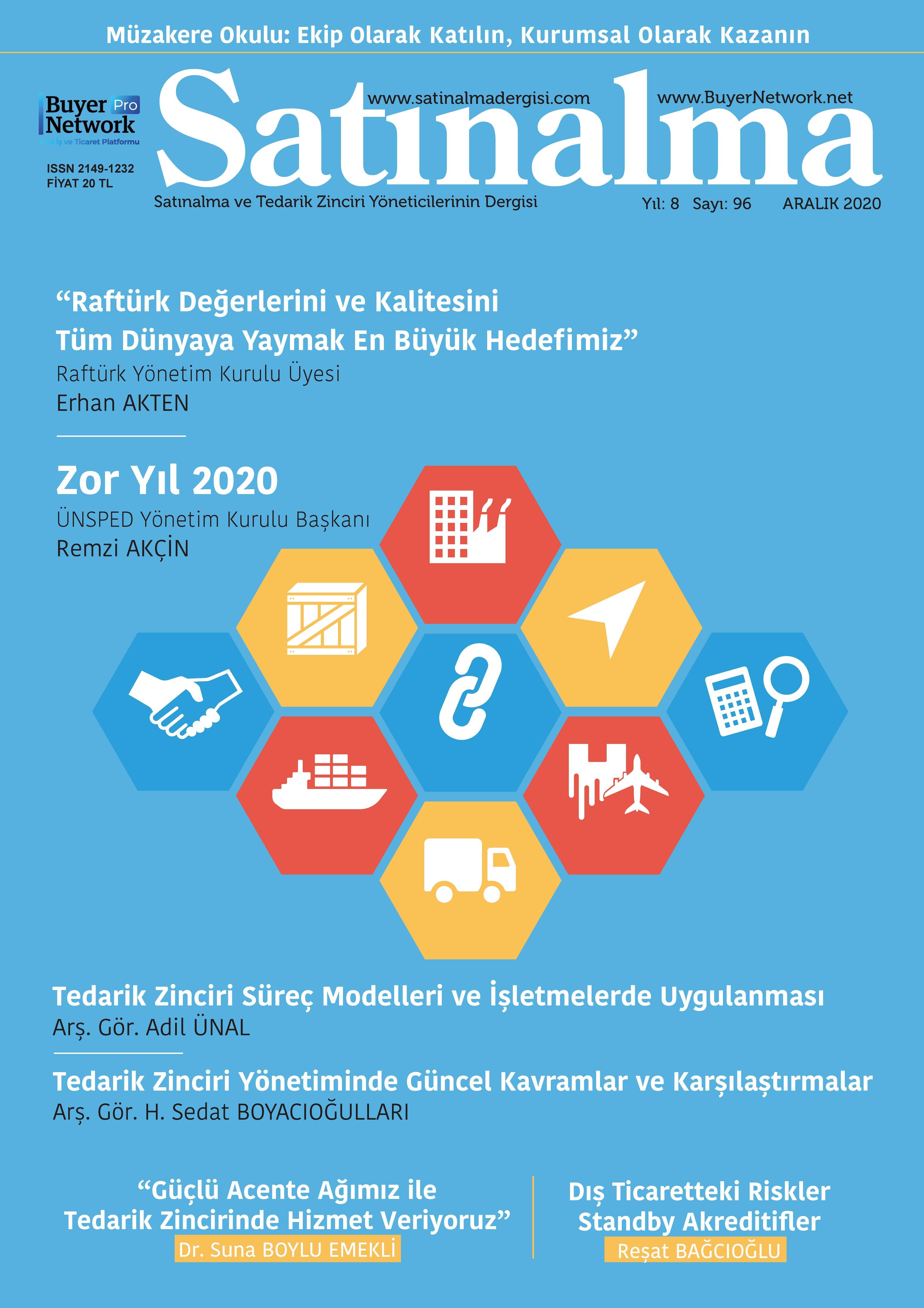 Satınalma Dergisi Aralık 2020 Sayısı Öğrenme Merkezinde