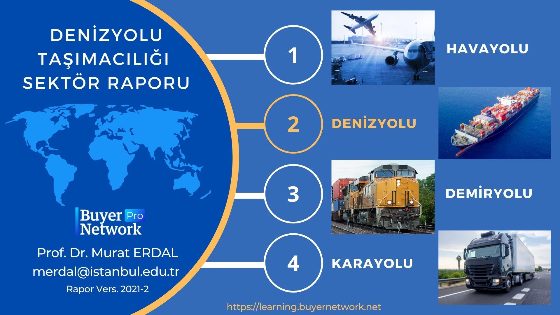 Denizyolu ve Konteyner Taşımacılığı Sektör Raporu