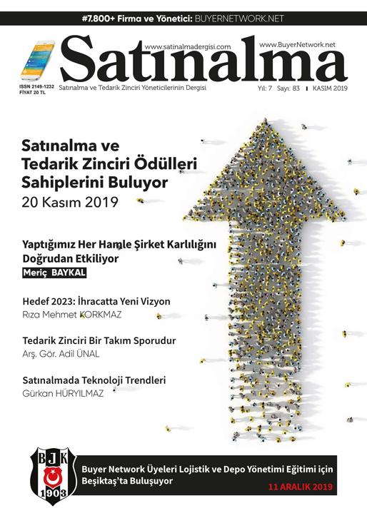 Satınalma Dergisi Kasım 2019 Sayısı