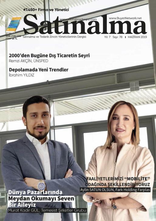 Satınalma Dergisi Haziran 2019 Sayısı