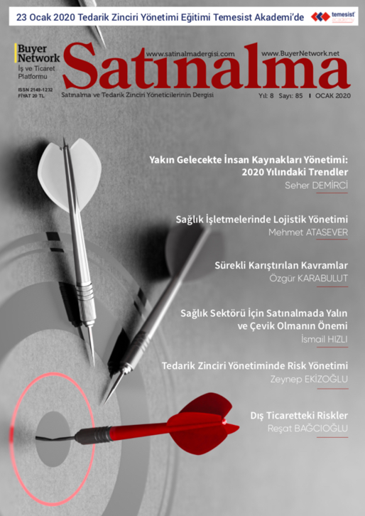 Satınalma Dergisi Ocak 2020 Sayısı