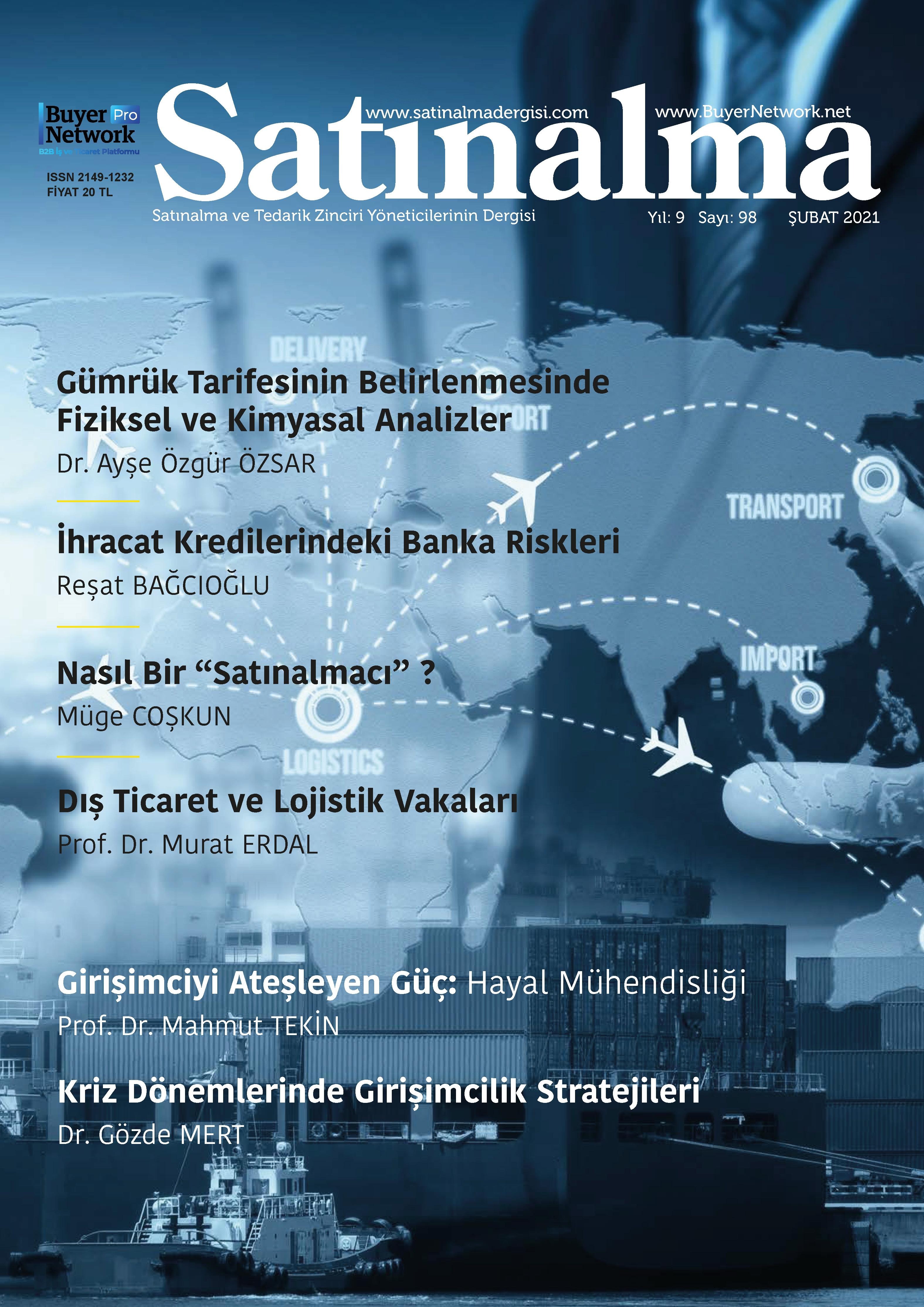 Satınalma Dergisi Şubat 2021