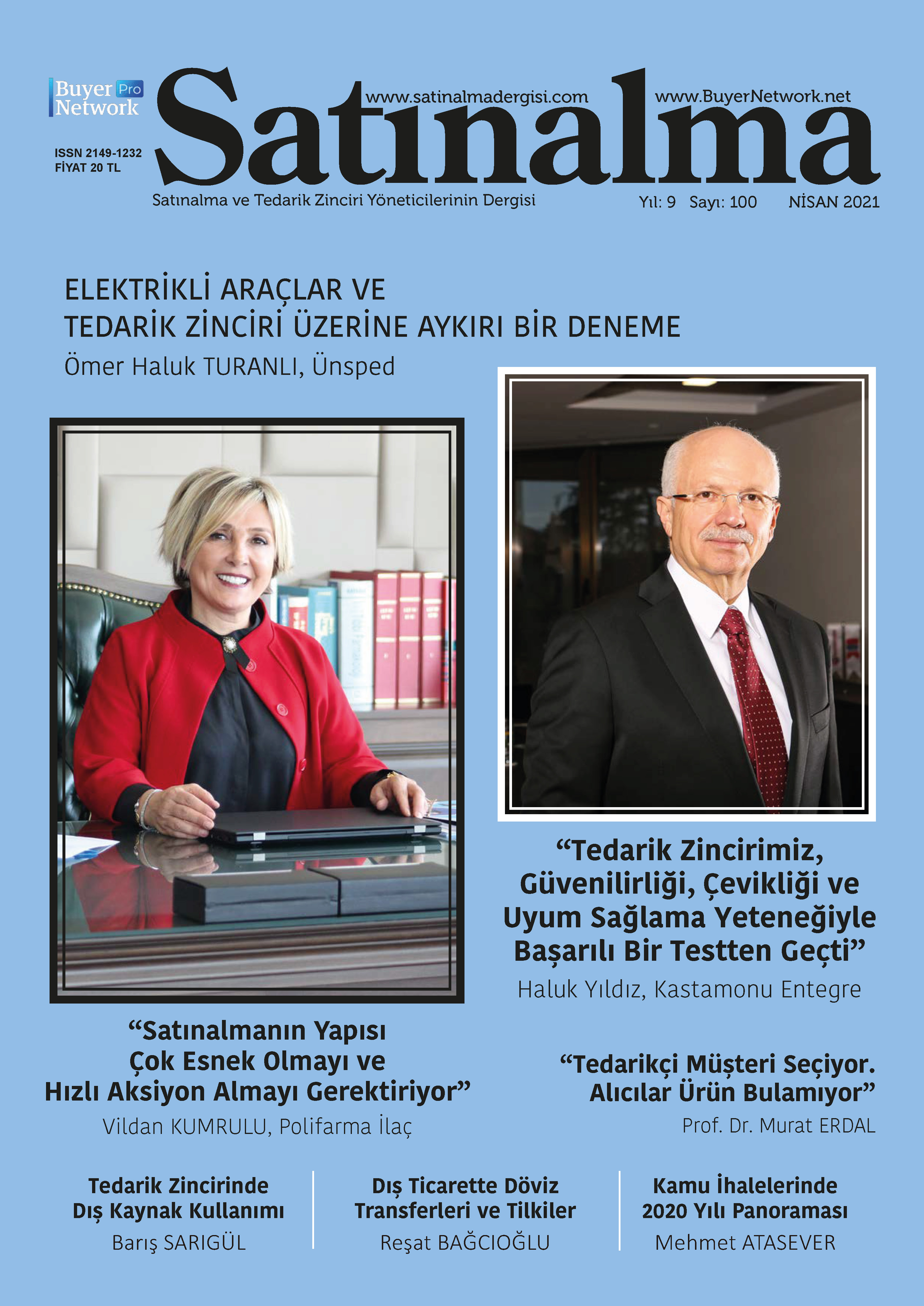 Satınalma Dergisi Nisan 2021